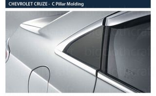 New Chrome C Pillar Cover Molding Trim A841 for Chevrolet Cruze 4DOOR 2011 2012