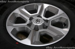 "2014 Toyota 4Runner Factory 17"" TRD Wheels TRS Tacoma Land FJ Cruiser Tundra"