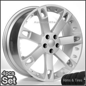 """22"""" Wheels and Tires for Land Range Rover HSE Sport Rims"""
