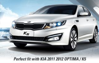 Fit Kia 2011 2012 Optima K5 Wheel Center Caps Emblem 3D K Logo Set 4ea