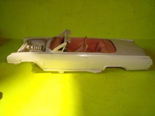 1 25 Scale Model Car Parts 1964 Buick Wildcat Conv Built Kit
