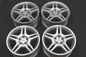"4 Factory Mercedes Benz AMG 18"" Wheels Rims E350 E500 E550 E55 CLS500 CLS550"