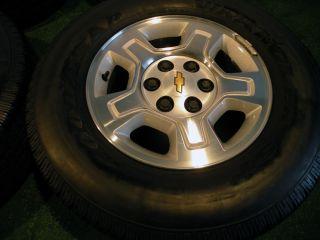 "17"" Chevrolet Silverado Tahoe Suburban Chevy GMC Wheels Yukon 1500 Sierra Tires"