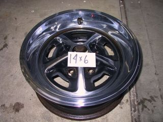 """New 14"""" Chev Olds Mag Style Rally Wheel Trim Rings"""