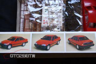 Academy Minicraft 1 24 Scale Opel Kadett Pontiac LeMans GSE w Driver's Figure