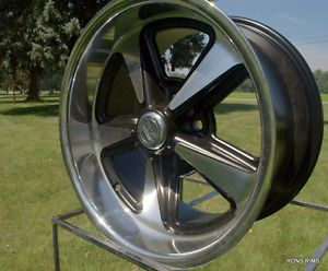 """US Mag Pontiac Buick Style Rally """"Bandit"""" 18x9 Buick Olds Chevy Hotrod Wheel"""