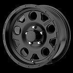 15 inch Black Wheels Rims Nissan Toyota Pickup Truck Isuzu Chevy GMC 6x5 5 New