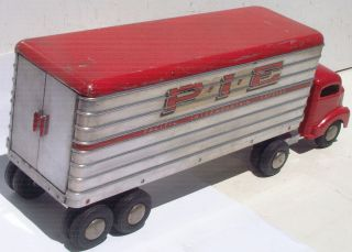Smith Miller Vintage Toy Truck Pacific Intermountain Express