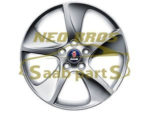 Saab 9 3 9 5 Genuine 17 inch 5 Spoke Turbine Alloy Wheel New Alu 88 12784446