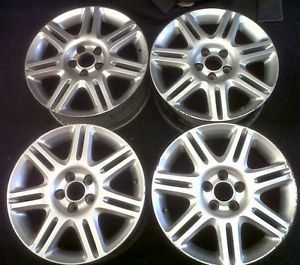 "Saab 9 5 Set 4 7 x 17"" Light Alloy Wheels ""7 Spoke Twin"" 05 10 5531363 Alu 55"