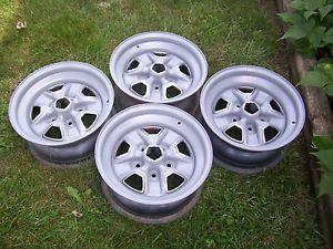 Oldsmobile Cutlass Rally Wheels Set of 4 15 x 7