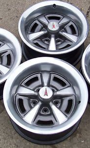 Pontiac Rally ll Wheels 15x6 HX and KG Codes 2 Wheels