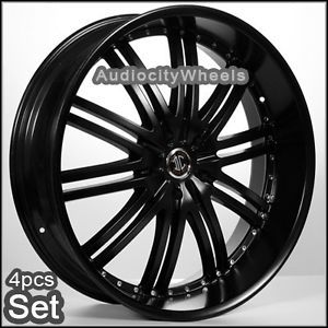 "24""inch D1 BK Wheels for Land Range Rover FX35 Rims"