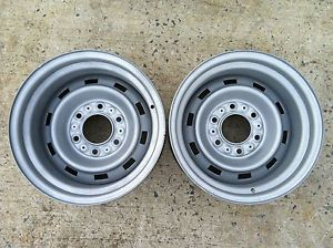 15 X 8 CHEVY RALLY WHEELS 6 on 5 1 2 Lug Pattern 3 3 4 BS GM GMC CHEVY TRUCK