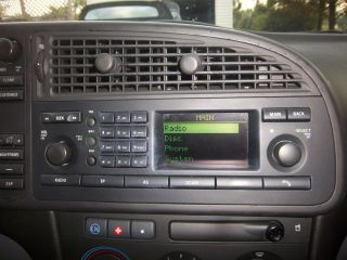 03 05 Saab 9 3 Am FM Radio Receiver Unit Saab 9 3 Radio Saab 9 3 Digital Radio