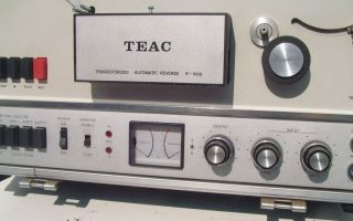 Teac R 1000 Reel to Reel Tape Deck with Case R1000 Vintage