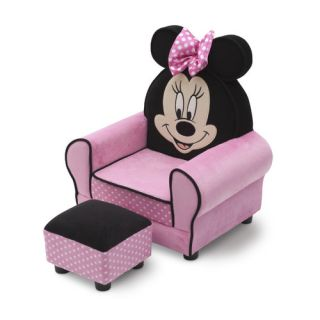 Phenomenal Delta Children Minnie Mouse Kids Club Chair Ottoman Pdpeps Interior Chair Design Pdpepsorg