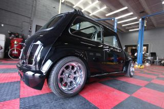 1972 Mini Cooper with Mini Tec B16 Swap 300HP Type R Transmission Honda Vtech