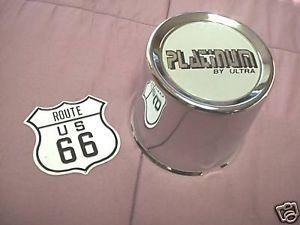 Ultra Platinum Chrome Mag Wheel Center Cap 89 8025