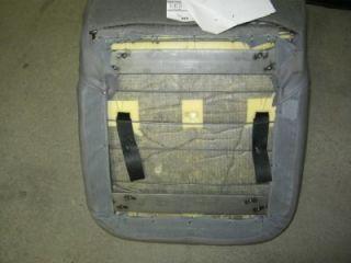 1 M2 Freightliner Semi Truck Gray Vinyl Bucket Seat Non Air Ride