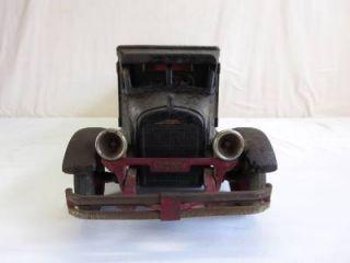 RARE 1930s Buddy L Dump Truck Original Paint Estate Find Large Size Antique Toy