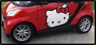 Hello Kitty Car Door Decals Mini Smart Car Decals