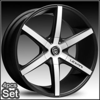 24inch Lexani R Six Wheels Rims Chevy Escalade Ford 5 and 6 Lug