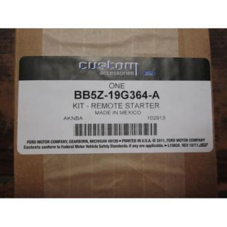 11 thru 14 Explorer Genuine Ford Parts Remote Starter Kit Factory System