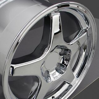 "17"" Chrome ZR1 Wheel Rim Fits Corvette C4 Camaro SS Z28 Firebird Trans Am"