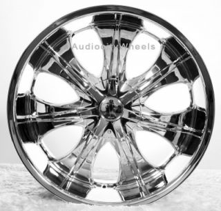 "22"" inch VC725 Wheels for Land Range Rover FX35 Rims"