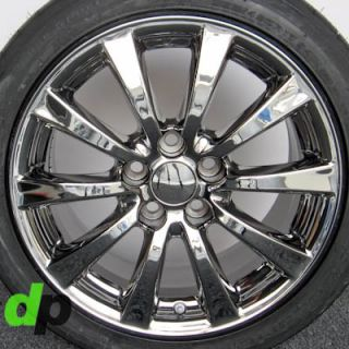 "17"" Lexus IS250 is350 Factory OEM Ecodriven Chrome Wheels Rims BFGoodrich Tires"