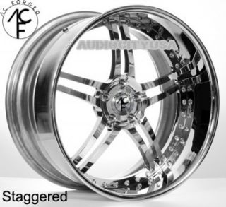 "22"" AC Forged SPLIT5 CH 3pc Wheels and Tires Rims for BMW Mercedes 1pc"