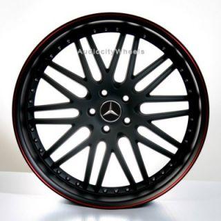 20inch Mercedes Benz Wheels and Tires E C CLK SLK Rims