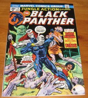 Jungle Action 9 1974 Black Panther Nice High Grade Comic