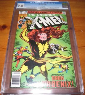 X Men 135 1980 Dark Phoenix 1st Robert Kelly CGC 9 8 Near Mint Mint White Pages