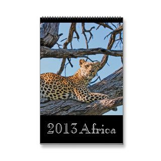 Animal wild Africa 2013 (ANY YEAR) Calendars