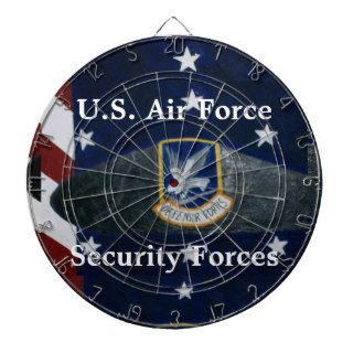 U.S. Air Force Security Forces Beret Dart Boards