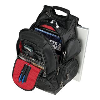 Ativa Mobil IT Ultimate Organizer Backpack 185 H x 1275 W x 8 D Black
