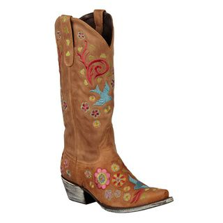 Tan Lane Boots Women's 'Groovy Girl' Cowboy Boots Lane Boots Boots