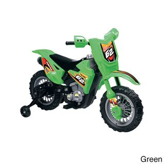 Vroom Rider VR098 Battery Operated 6V Dirt Bike Powered Riding Toys