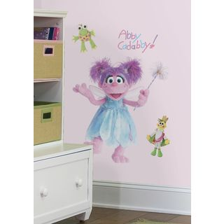 Sesame Street Abby Peel and Stick Giant Wall Decal Roommates Wall Decor