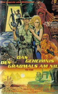 Das Geheimnis des Grabmals am Nil: Sybil Danning, John Carradine, Cameron Mitchell, Richard Alan Hench, Susan Stockey, Fred Olen Ray: VHS