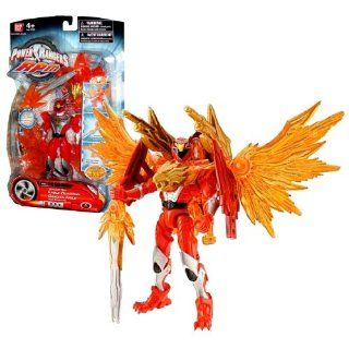 Bandai Year 2009 Power Rangers RPM Auxiliary Trax Series 5 1/2 Inch Tall Action Figure   Eagle Guardian Red Ranger with 3 Transformation Modes Plus Weapon and Accessories Toys & Games