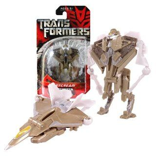 Hasbro Year 2007 Transformers Movie Series 1 Legends Class 3 Inch Tall Robot Action Figure   Decepticon STARSCREAM (Vehicle Mode F 22 Raptor Fighter Jet) Toys & Games