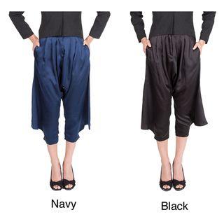 Nami Women's 'Lena' Wide leg Tapered Pants Dress Pants