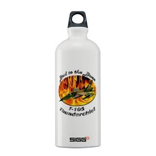 F 105 Thunderchief Sigg Water Bottle by AirplaneShirts