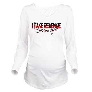 Revenge   DiMera Style Long Sleeve Maternity T Shi by insanitycafe