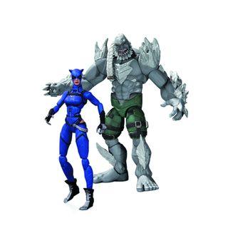 DC Comics Injustice Catwoman vs. Doomsday Action Figure Set DC Comics Superheroes & Villains