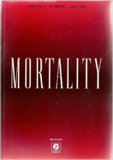 Mortality Volume 1 Number 2 July 1996: Gordon Riches & Pam Dawson, Ralph Houlbrooke, James A. Thorson, Pittu Laungani, Ronald Frankenberg, Bill Bytheway & Julia Johnson: Books