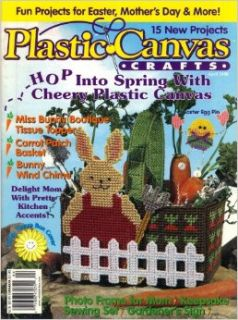 Plastic Canvas Crafts (April 1999, Volume 7, Number 2): Laura Scott: Books